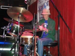 Johnny Vidakovitch au Maple Leaf Bar, New Orleans